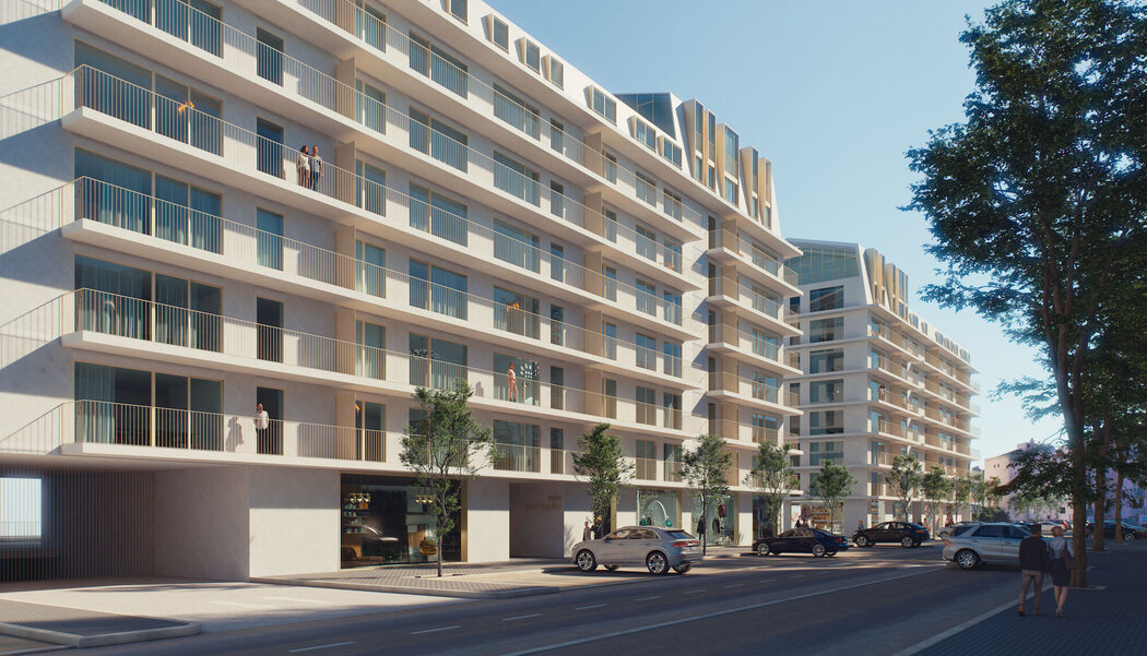 SlimLine 38 Ferro Windows, CW 50 Curtain Walls and CS 77 Doors - Private Apartment O'Living located in Lisbon, Portugal