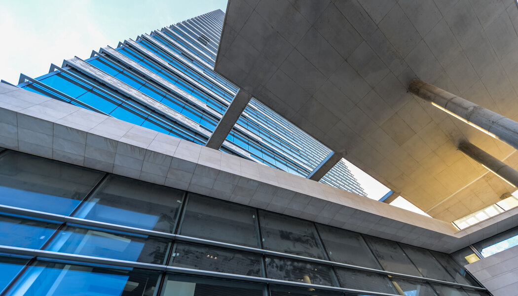 CW 50-SC Curtain Walls - Business center Paragon Tower located in Ankara, Turkey