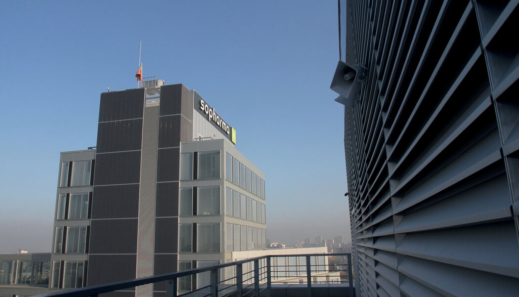 Business center Sopharma Litex Business Towers located in Sochi, Bulgaria
