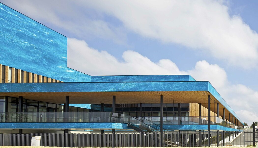 CW 50 Curtain Walls - Technology Technocampus Ocean located in Bouguenais, France