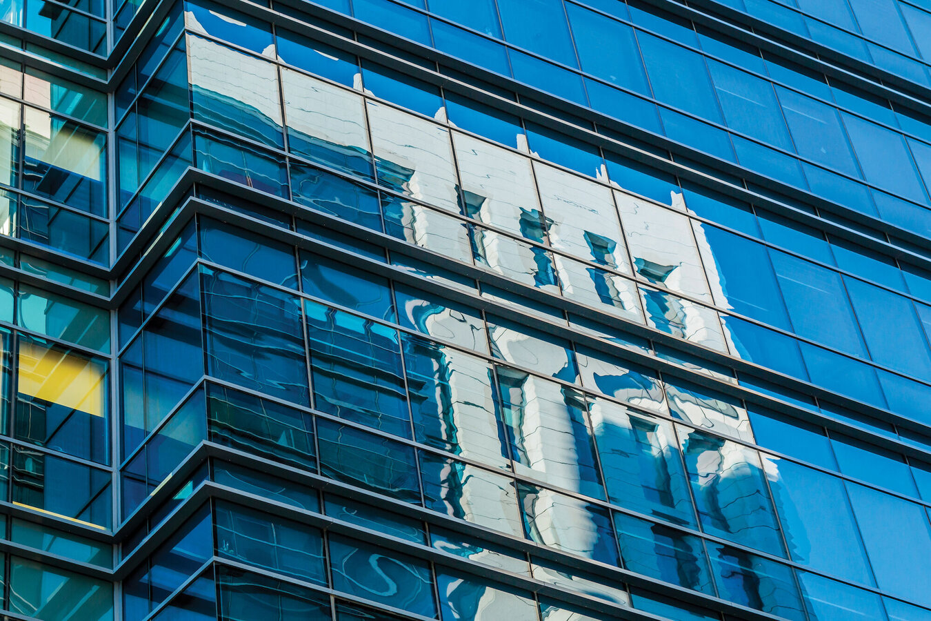 CW 50-HL Curtain Walls - Business center Afi Business Park located in Bucharest, Romania